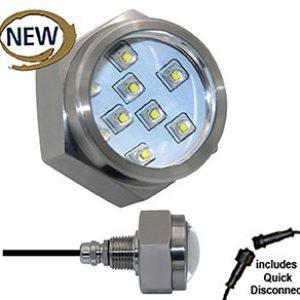 DRAIN PLUG LED 45 watt – Stainless Steel 2500 Lumen Drain Plug LED