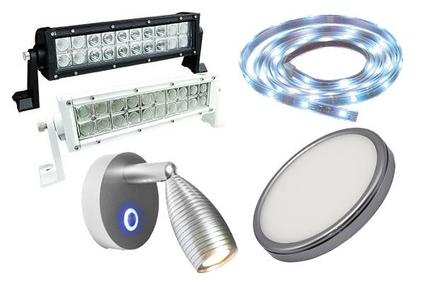 LED Luminaries, Courtesy, Fixtures & Strip Lighting